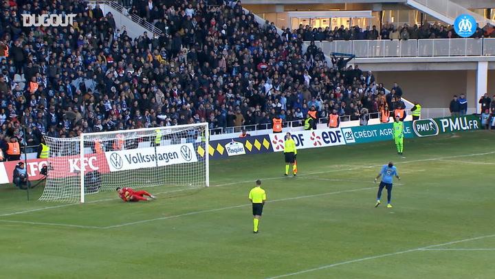 Yohann Pelé's penalty saves against Trelissac