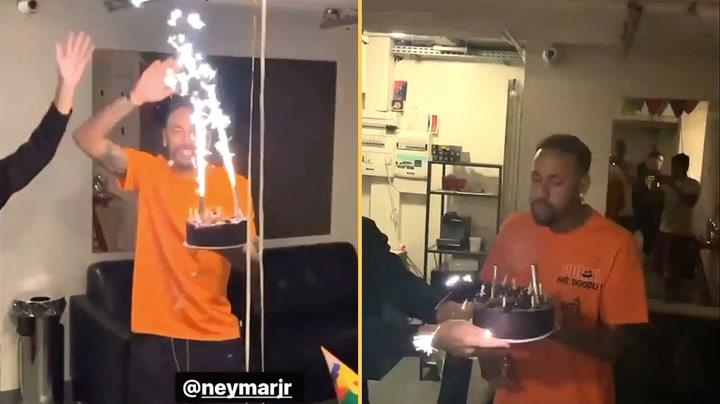 Así celebró Neymar Jr su 29º cumpleaños
