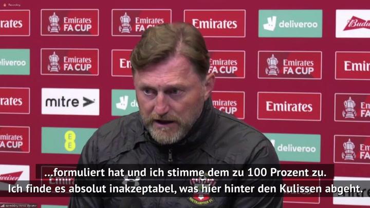 "Hasenhüttl: ""Super League absolut inakzeptabel"""