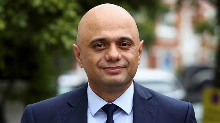 Sajid Javid apologises for suggesting people must not 'cower' from Covid-19