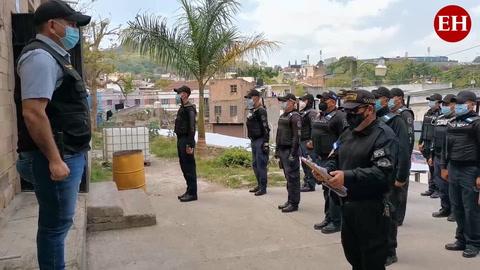 Declaraciones de Josué Esperanza, vocero de la policía municipal