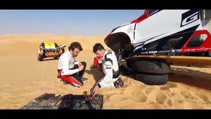 Calleja rescata a Fernando Alonso en Abu Dhabi