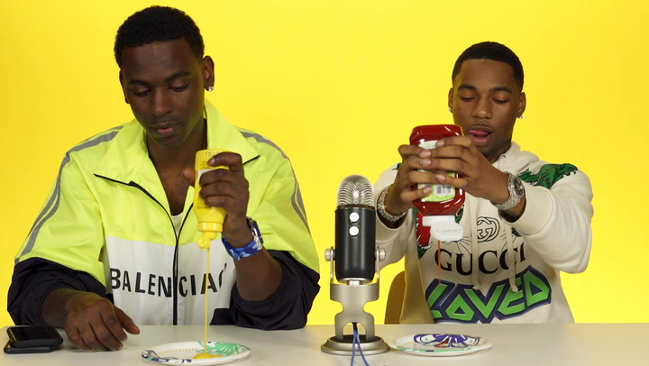"Young Dolph & Key Glock Do ASMR with Ketchup and Mustard, Talk ""Dum and Dummer"""