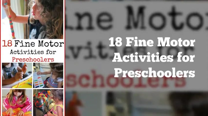 18 Fine Motor Activities for Preschoolers - Mess for Less