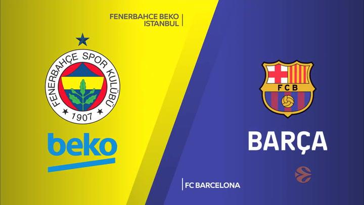 Euroliga: Fenerbahce Beko Istanbul - FC Barcelona