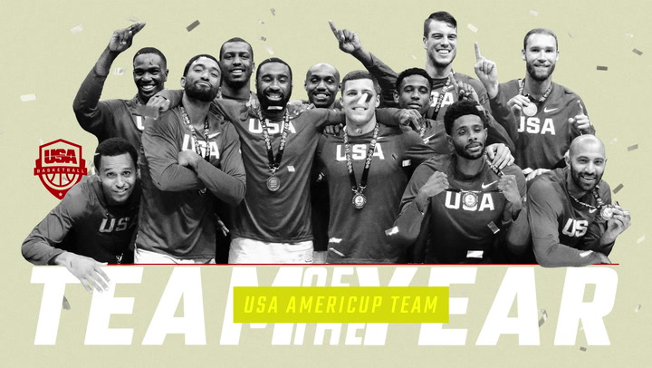 2017 USA Basketball Team Of The Year - USA Men's Americup Team