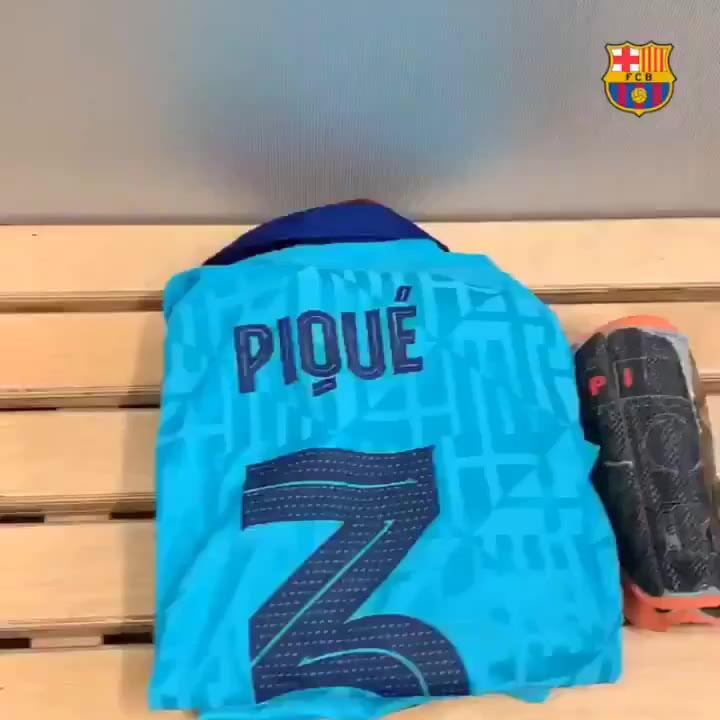 El vestuario del Barça, a punto para el debut en la Champions