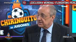 Florentino Pérez confirma que la Superliga europea es para salvar al fútbol