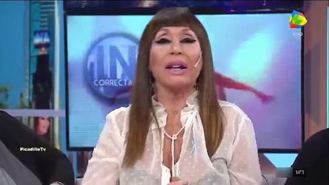 La furia de Moria Casán con Marcelo Tinelli y el Chato Prada