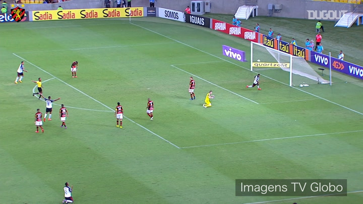 Joelinton's stunning assist vs Flamengo at Maracanã