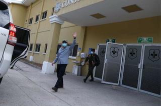 El presidente Juan Orlando Hernández recibe alta médica tras superar el coronavirus