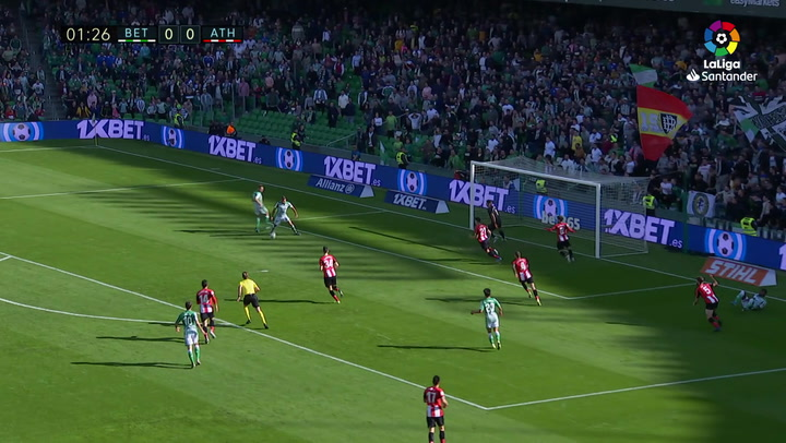 Gol 0100 Real Betis - Athletic Club J16 JOAQUIN