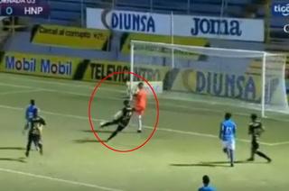 La jugada de gol que le anularon a Ramiro Rocca en su primera intervención con la camisa del Real España
