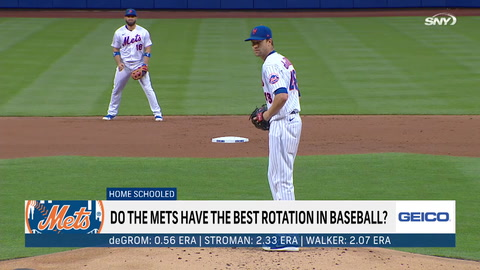 Do Mets have the best rotation in baseball?