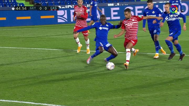 Gol de Montoro, p. (0-1) en el Getafe 0-1 Granada