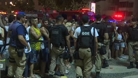 Mató a una bebé e hirió a otras 16 personas al perder el control de su auto en Copacabana