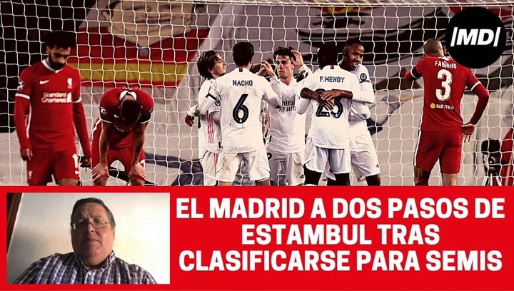 Análisis del partido del Liverpool-Real Madrid