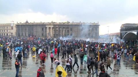 Tres muertos en protestas contra el gobierno de Duque en Colombia
