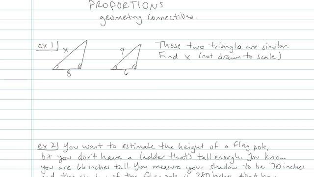 Proportions - Problem 8