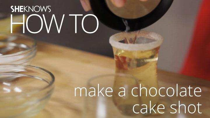 Birthday Cake Shot Recipe Frangelico