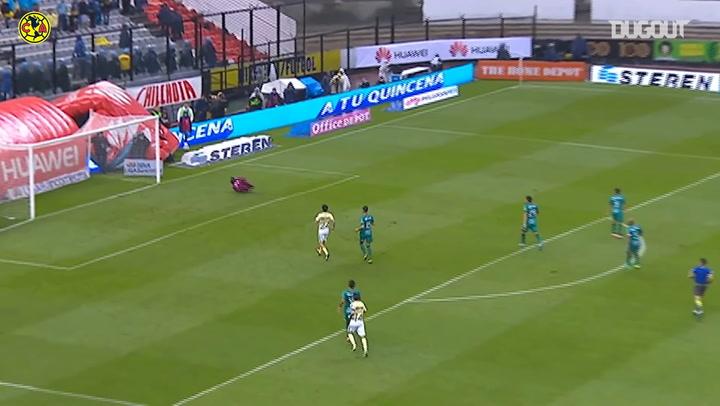 El golazo de Silvio Romero ante Jaguares