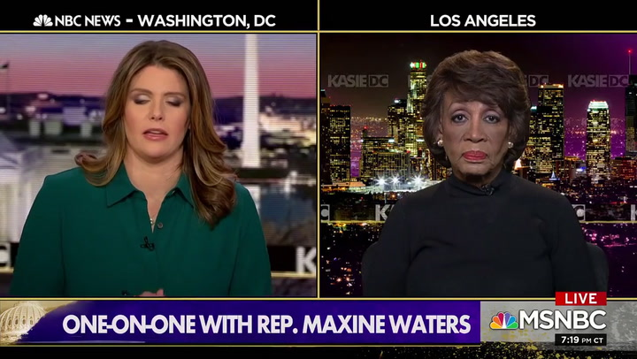 Maxine Waters: Trump Will 'Get Worse' Post-Impeachment -- Bring Putin to White House to Interfere
