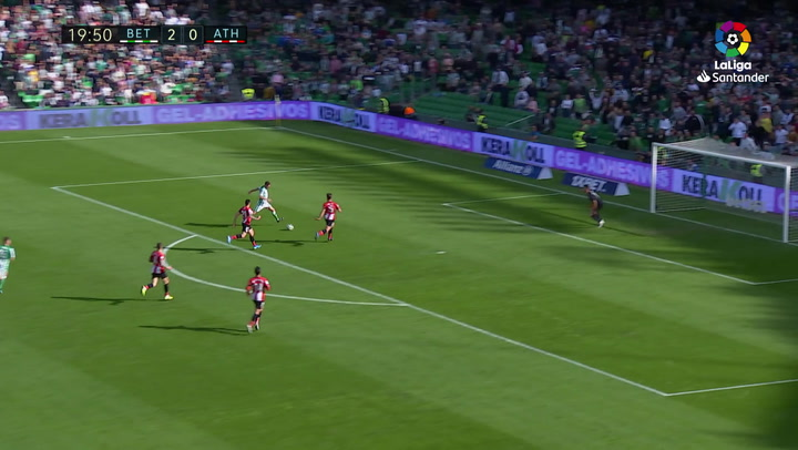 Gol 0300 Real Betis - Athletic Club J16 JOAQUIN