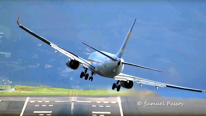 Fryktet flyplass gir pilotene en real utfordring