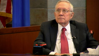 Harry Reid takes the stand in injury lawsuit