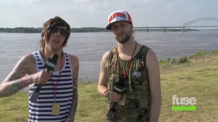 Breathe Carolina On Warped Tour & Music Videos: Beale St Music Festival