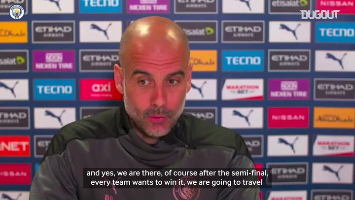 Pep Guardiola previews 2020-21 Carabao Cup final