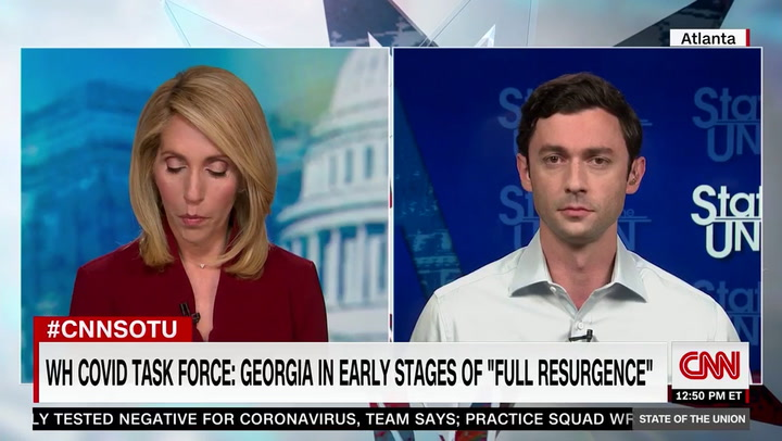 Ossoff Supports Shutdown If 'Public Health Experts' Recommend It