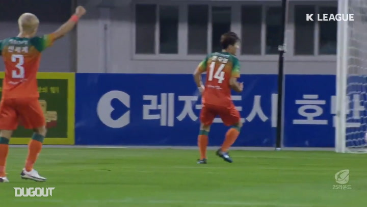All Goals from K League Round 25