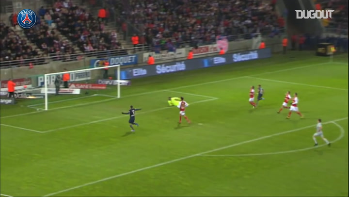 Lucas Moura finishes an amazing team effort vs Reims