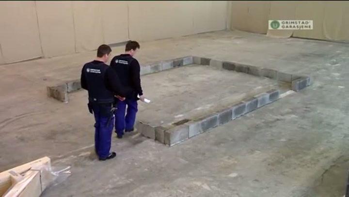 Bygge garasje: Hvordan sette opp grunnmur
