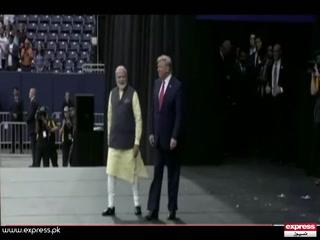 صدر ڈونلڈ ٹرمپ کا دورہ انڈیا: احمد آباد میں ایک کچی بستی کو 'چھپانے کے لیے دیوار' کی تعمیر