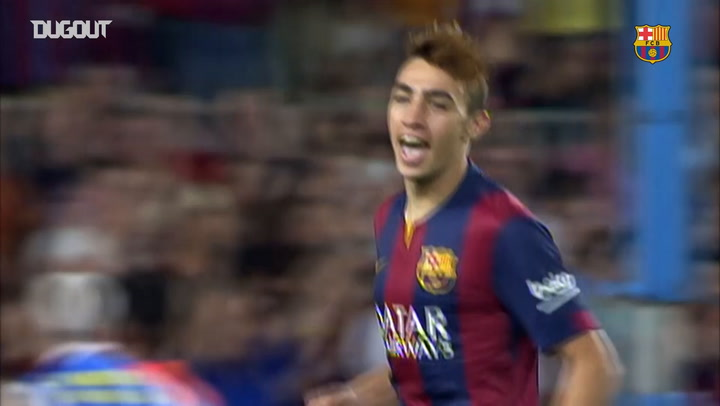 The best of Munir el Haddadi at FC Barcelona