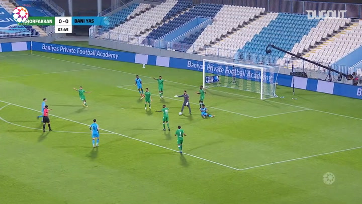 Highlights: Baniyas 5-0 Khorfakkan