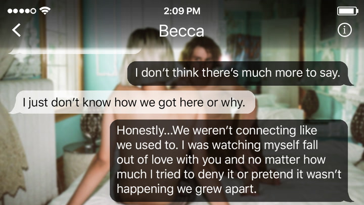 The Conversation That Hurts To Even Read After This Couple Broke Up