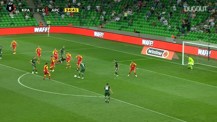 Sergei Petrov finishes an incredible team effort