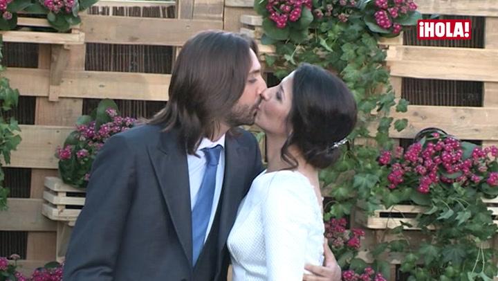 Desfile de invitados de lujo en la boda flamenca de Sara Verdasco y Juan Carmona