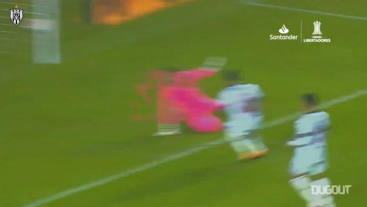 Moisés Caicedo's goals in the 2020 Libertadores
