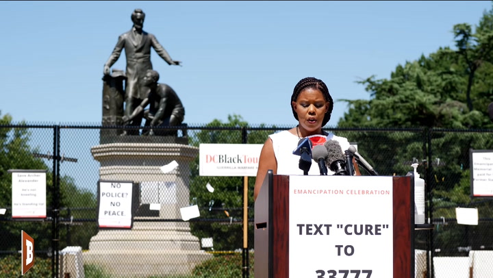 Star Parker: Trump Should Choose D.C.'s Emancipation Park for Location of National Garden