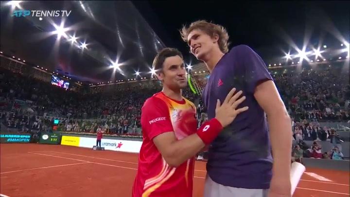 """Zverev, """"emocionado"""" con David Ferrer"""
