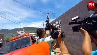 Rescatan a tres obreros que quedaron soterrados en Sabanagrande