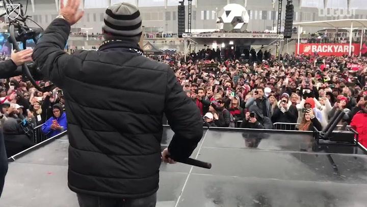 Tras las cámaras: La celebración del título con Atlanta United