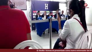 El 'Bolillo' Gómez es presentado como nuevo entrenador de Honduras