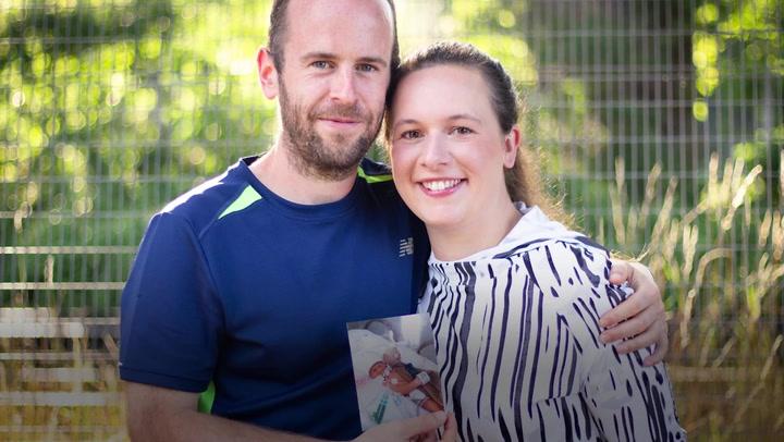 Heartbroken parents to run marathons in memory of baby daughter