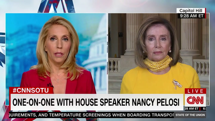 Pelosi: Trump's Roger Stone Commutation a 'Threat to Our Natural Security'
