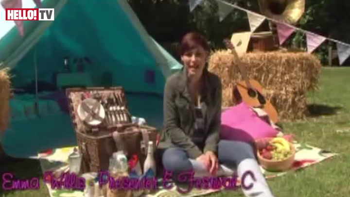 Emma Willis goes glamping: A festival survival guide